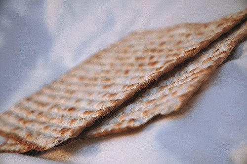 Two boards of matzah