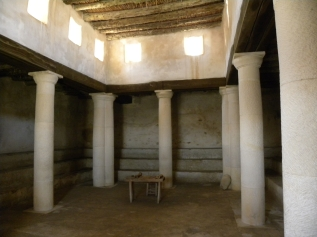 Reconstructed first-century synagogue